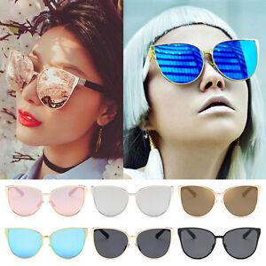 d9b448d6406 Hot Retro Women Cat Eye Sunglasses Vintage Shades Oversized Glasses ...