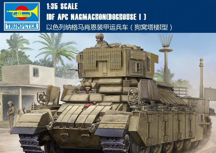 Hobby Boss 83869 1 35 IDF APC Nagmachon (Doghouse I) Tank Armored Car Model Kit