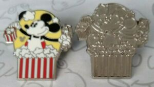 Character-Popcorn-Labels-2013-Hidden-Mickey-Series-Set-DLR-Choose-a-Disney-Pin