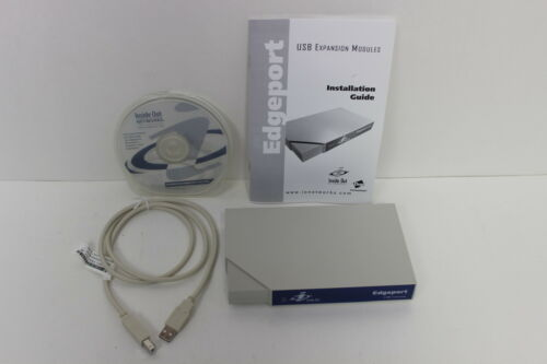 DIGI 301-1000-04 INSIDE OUT EDGEPORT//4 RS-232  USB CONVERTER NEW OPEN BOX