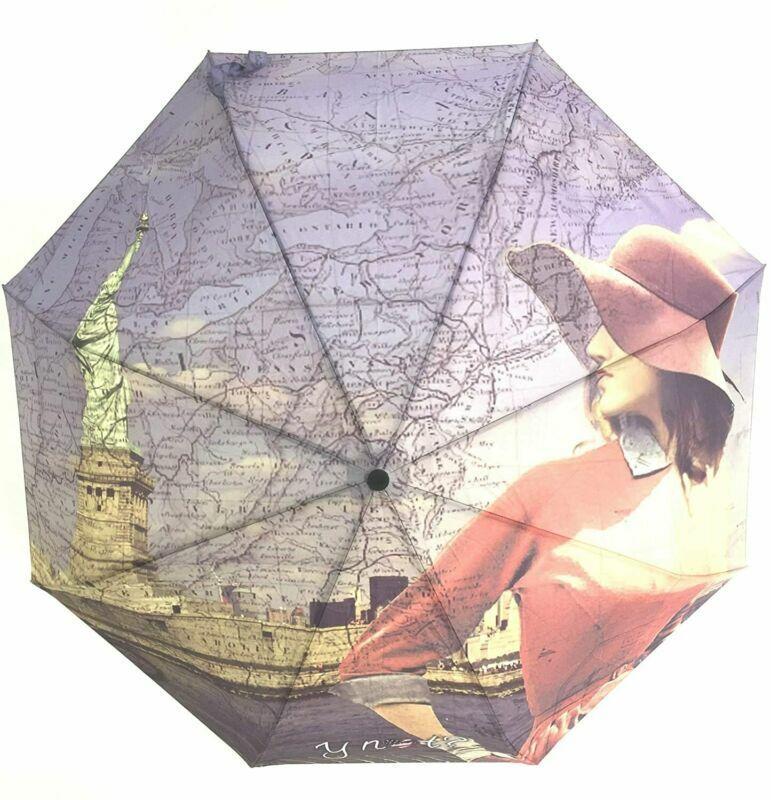 ? no y Diseño Paisaje Verano NY paraguas