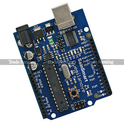 SainSmart Duemilanove Board ATmega168-PU for Arduino + Free USB Cable UK Stock
