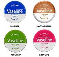 Vaseline Lip Therapy Petroleum Jelly 20gr Pocket Size Lip Balm Treatment