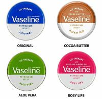Vaseline Lip Therapy Petroleum Jelly 20gr Pocket Size Lip Balm Treatment