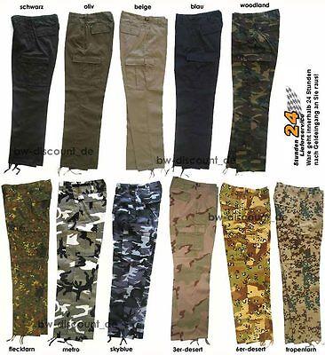 M89 Pant Cargo Hose Cargohose Arbeitshose Freizeithose 11 Farben