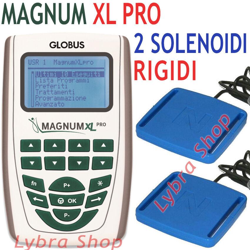Globus MAGNUM XL PRO 2 solénoïdes RIGIDES 500 Gauss Magnétothérapie impulsions
