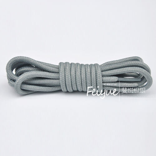 Round Coloured Shoe Laces Several Colours Shoelaces Sneakers Bootlace 5 Lengths
