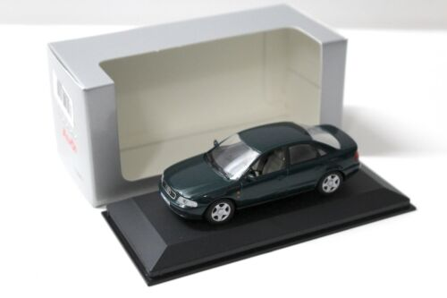 1:43 Minichamps audi a4 b5 sedan dark green dealer sp New en Premium-modelcars