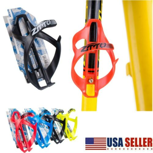 USA Water Bottle Cage Mount Drink Bicycle Handlebar Bike Holder Cycling Beverage