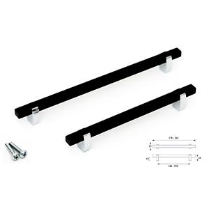 Brushed-Polished-Black-Kitchen-Bathroom-Cabinet-Door-Drawer-Furniture-Handles