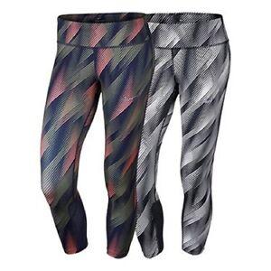 94d7989b7a210 Nike 831645 Women's Epic Run Printed Crop Pants Running Training ...