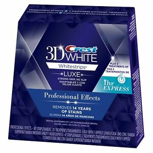 Crest 3D White Whitestrips - Professional Effects | eBay