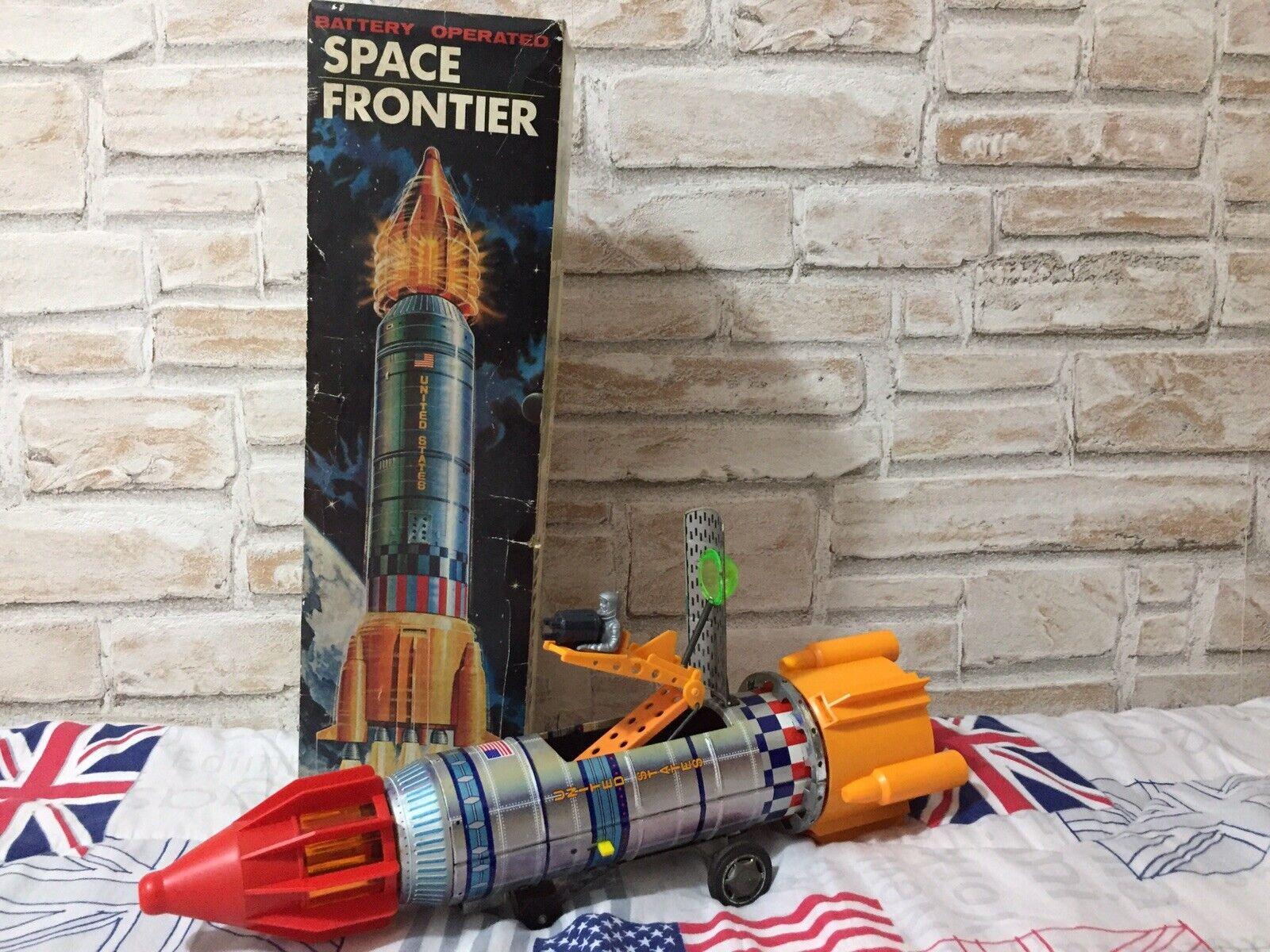 Razzo Space Frontier Apollo 11 Tin Toy Robot Yoshino KY No Nomura Horikawa KO
