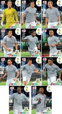 International Complete Base Set (210 cards) - 2014 FIFA World Cup Adrenalyn