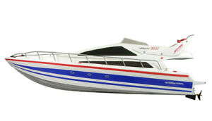 RC-Rennboot-Speedboot-Atlantic-Yacht-73cm-Lang-inkl-Akku-Ladegeraet-NEU