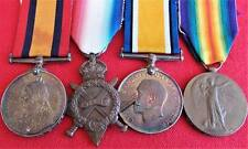 NEW ZEALAND BOER WAR & AUSTRALIAN WW1 MEDAL GROUP DESERTER 19TH BN A.I.F. ANZAC