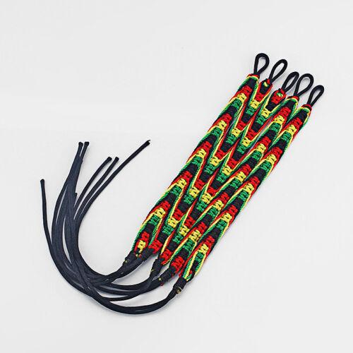 20pcs Handmade RASTA HIPPIE Jamaican couleur Amitié Bracelet