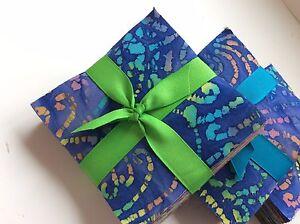 100-Assorted-BATIK-pre-cut-charm-pack-5-034-squares-100-cotton-fabric-quilt