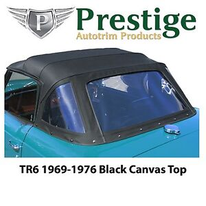 Triumph Tr6 Convertible Top Soft Top Tops Black Canvas