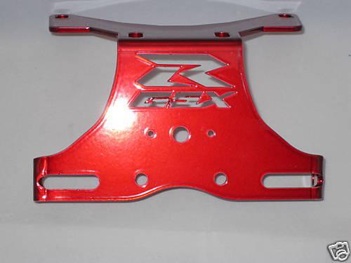 03 04 Gsxr Suzuki GSX-R 1000 redlogo FENDER ELIMINATOR