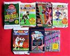 100 Football Cards Old Unopened PACKS Lot Score Fleer Upper Deck Favre Elway ?+?