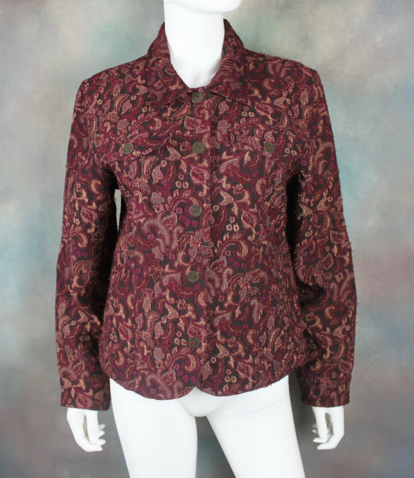 Christopher & Banks Women's Jacket Size M Button … - image 1