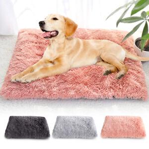 Dog-Cat-Bed-Mat-Long-Plush-Pet-Sleep-Mattress-Washable-Cushion-Warm-Blanket-S-XL