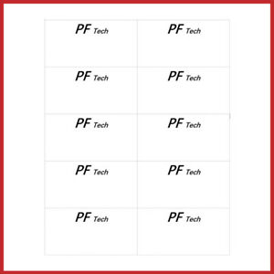 1000 address label 4x2 lasser ink jet 10 labels per sheet 100