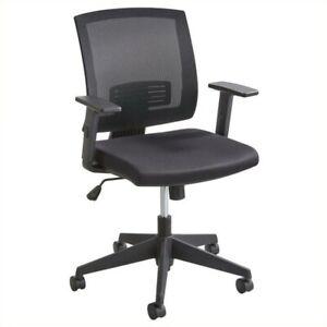 Safco Mezzo Task Office Chair In Black Ebay