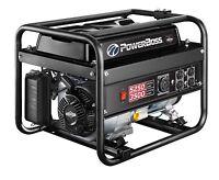 Briggs & Stratton Powerboss 30667 3500w Running Gas Powered Portable Generator