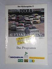 1990 Programm DTM Eifelrennen Nürburgring Porsche Carrera Cup F3 DTT Ford Fiesta