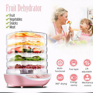 Food-Dehydrator-Machine-Electric-Multi-Tier-Preserver-Meat-Fruit-Beef-Dryer