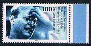 Allemagne-1995-Mi-N-1788-Mnh-50-Todestag-von-Dietrich-Bonhoeffer
