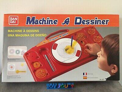Jeu Jouet Ancien Machine A Dessiner Bandai Ebay