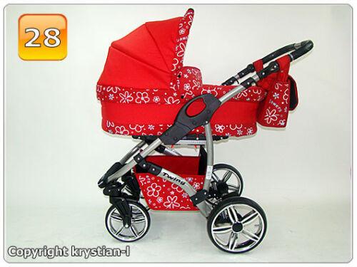 Kombi Kinderwagen Sportsitz Sportwagen Autositz Babyschale Schwenkräder Zubehör