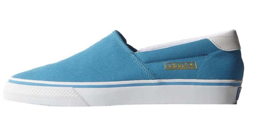 Adidas Originals Adidrill Vulc - Ballerines en toile avec des baskets bleues B25801