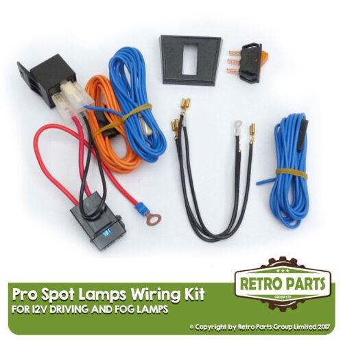 Isolated Loom Spot Lights Driving//Fog Lamps Wiring Kit for Opel Vivaro
