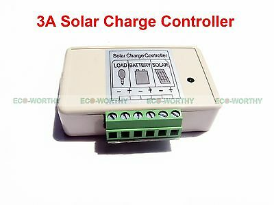 3A/5A/10A/15A/40A/45A MPPT Solar Charge Controller Home Battery Regulator 12/24V