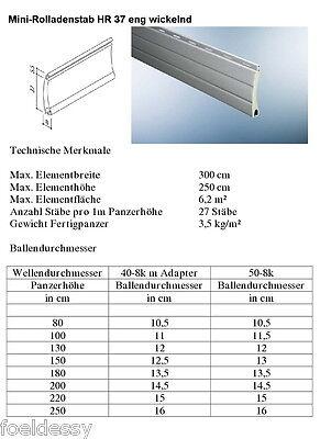 Rolladen Ersatz Lamellen Maßanfertigung Aluminium Grau Breite 135 Cm Lassen Sie Unsere Waren In Die Welt Gehen