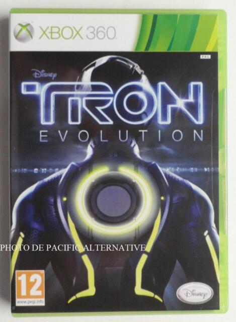 NEUF - jeu TRON EVOLUTION pour XBOX 360 en francais disney new game spiel juego