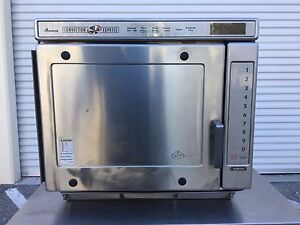 Image Is Loading Amana Ace14 Convection Express Commercial Combination Microwave Oven