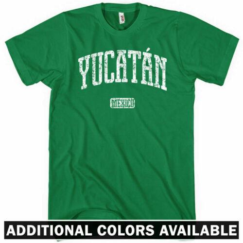 Men and Kids NEW XS-4XL YUCATAN T-shirt Mexico Mexican Beach Playa Merida