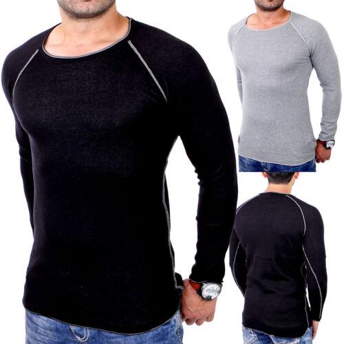 Redbridge Sweatshirt Herren Slim Fit Rundhals Pullover Langarm RB-3010 Neu