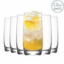 Whisky Tumbler Glasses Whiskey Drinking 290ml /& Highball Drinks Glass 390ml x12
