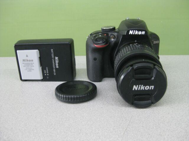 EXCELLENT!! Nikon D3400 DSLR Camera w/ 18-55mm Lens **LOW SHUTTER COUNT