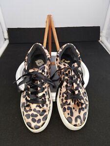 Womens leopard print sneakers size 7 | eBay