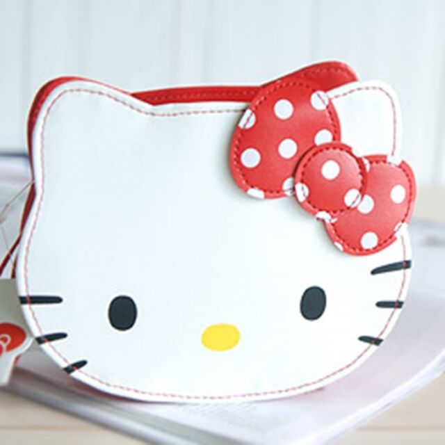 5a77526f4c33 Sanrio Hello Kitty Face Cosmetic Makeup Pouch Bag Girl Gift Japan Character