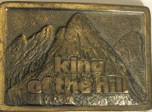 Vintage King Of The Hill Mountains 1982 Westinghou