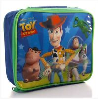 DISNEY TOY STORY INSULATED LUNCH BAG CHILDS KIDS NURSERY SCHOOL PIXAR BNWT