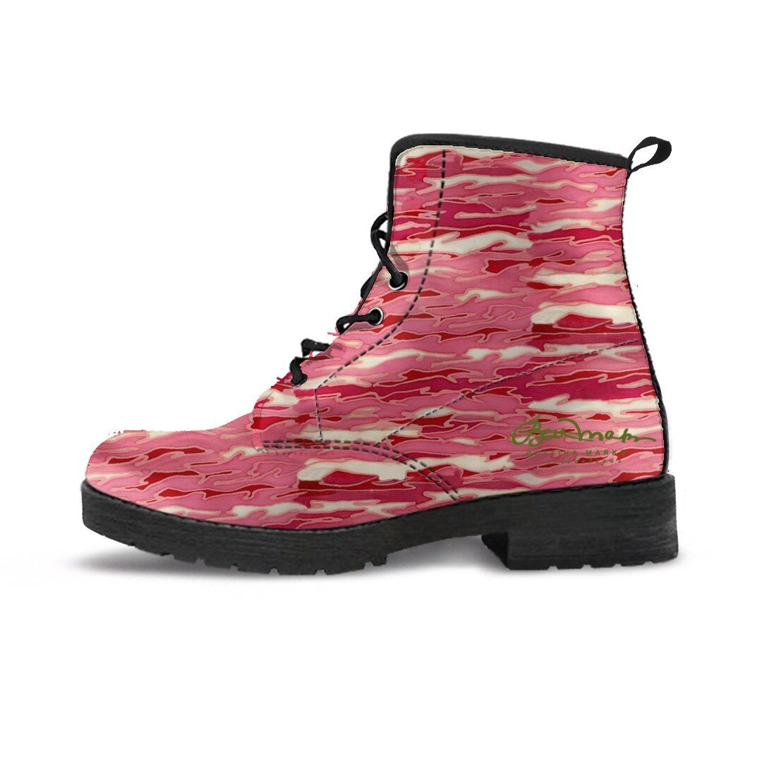 Man's/Woman's Boots Pink Lava Leather Boots Man's/Woman's Packaging diversity Win highly appreciated List of explosions 203d72